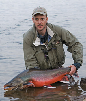 12.5kg and 102cm of male arctic char