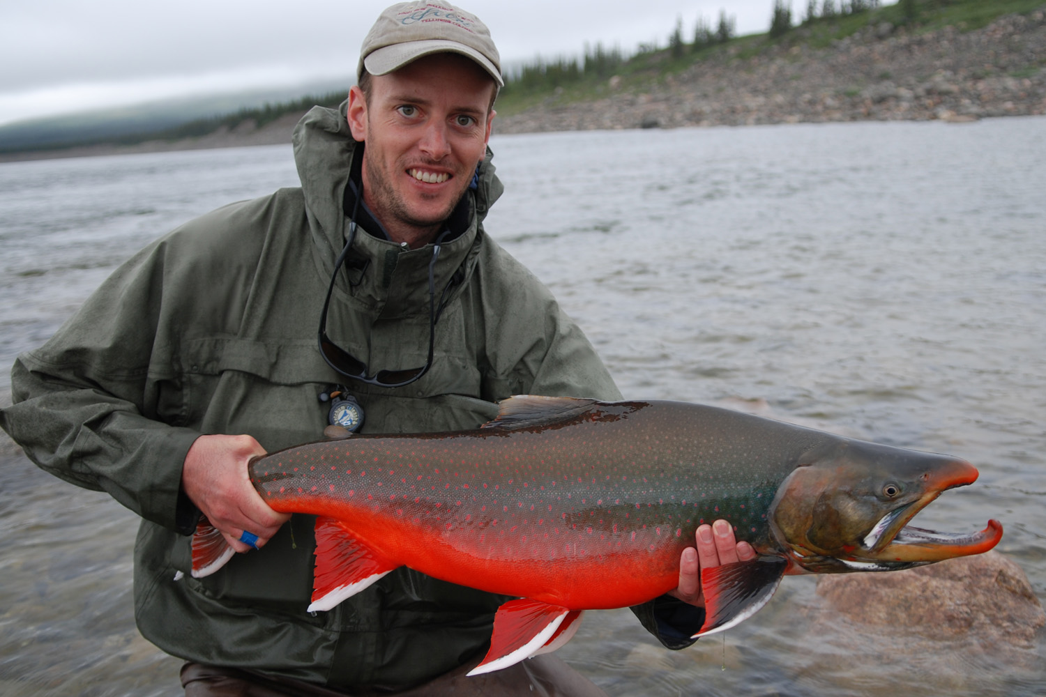 Fly Fishing For Arctic Char in Nunavut
